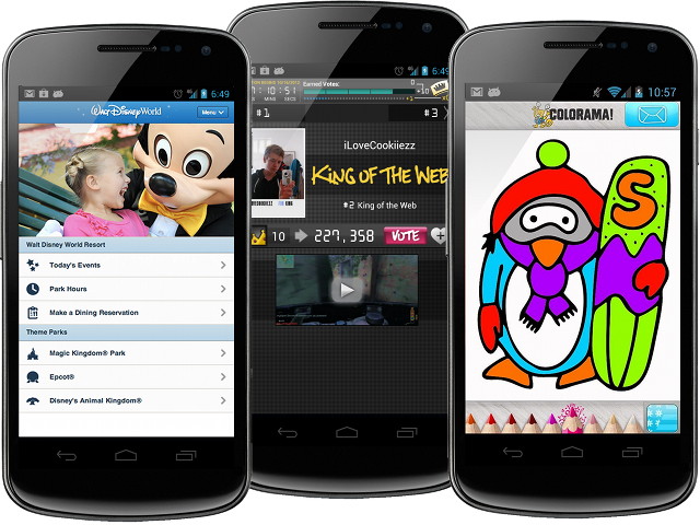 Disneyworld Mobile, King of the Web, and Colorama are all developed in whole or in part by Twuni.